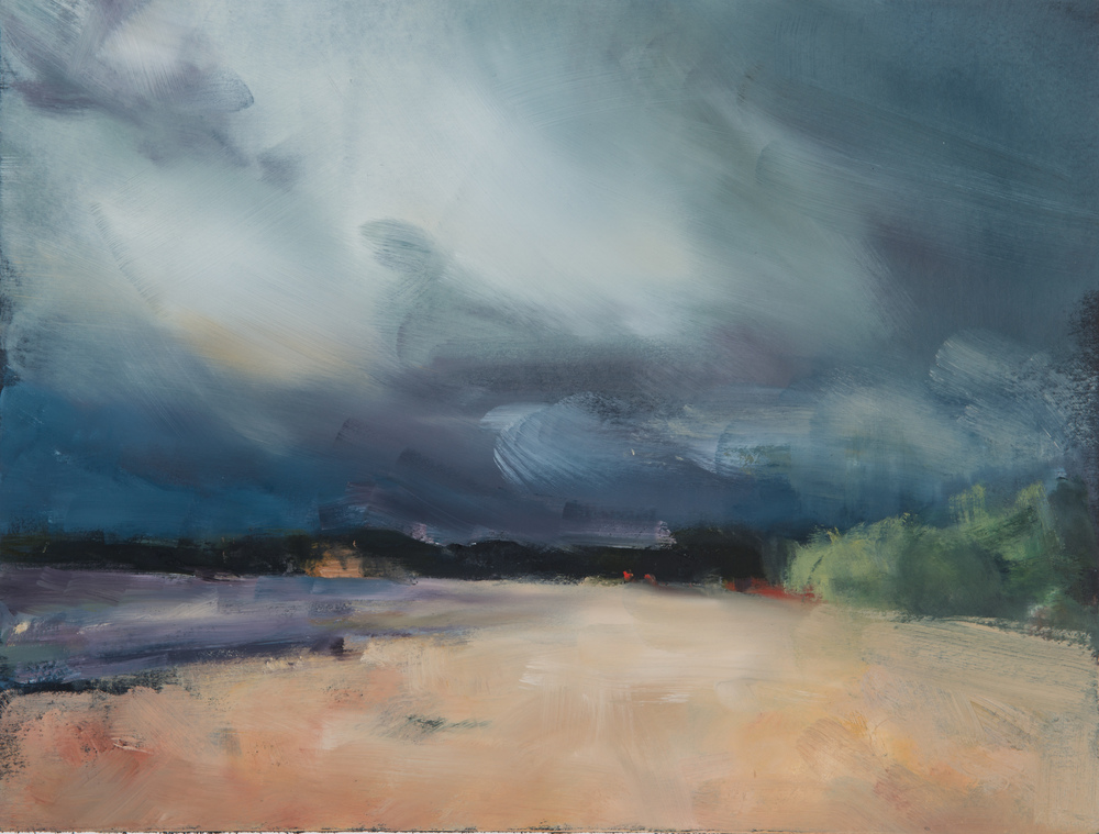 BW-047, Storm:Lester Beach, 2014, oil on artboard, 14x11.jpg