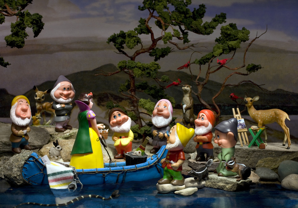 "White Pine and the Group of Dwarfs, Digital Photograph, 2009, 30"" x 21"""