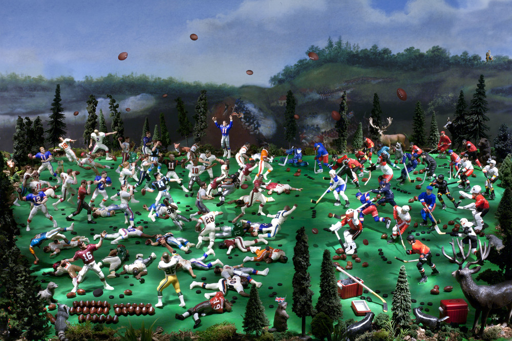 "The Battle of Queenston Heights (War of 1812), Digital Photograph, 2013, 30"" x 20"""