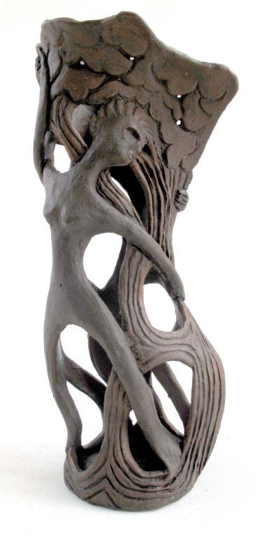 Nymphs Vase