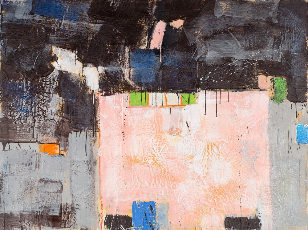 KW-064, Keith Wood, This Time 4, 2015, Encaustic on Panel, 48 x 36, $7,500