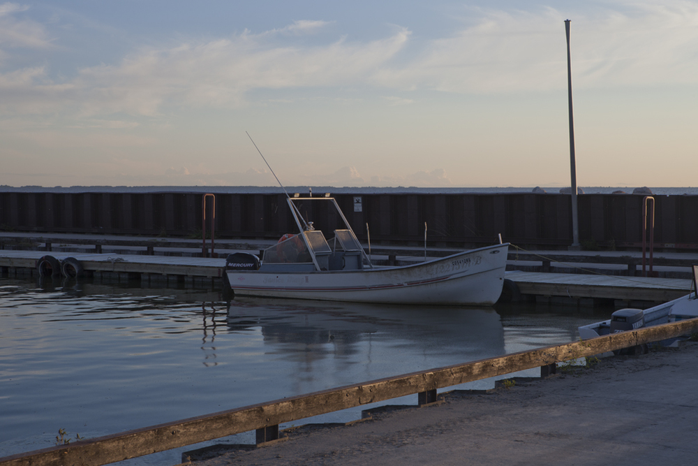 WP-023, William Pura, Balsam Harbour boat dock Aug 18, $1,500