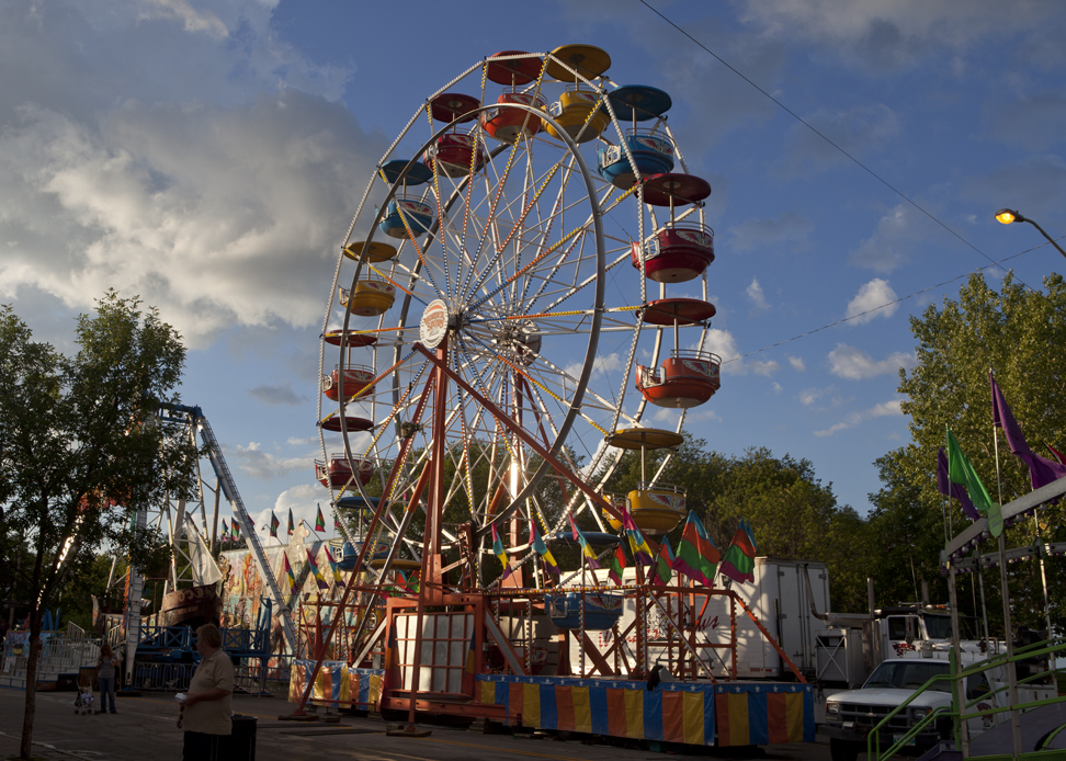 WP-025, Ferris Wheel Winnipeg Beach, $1,500