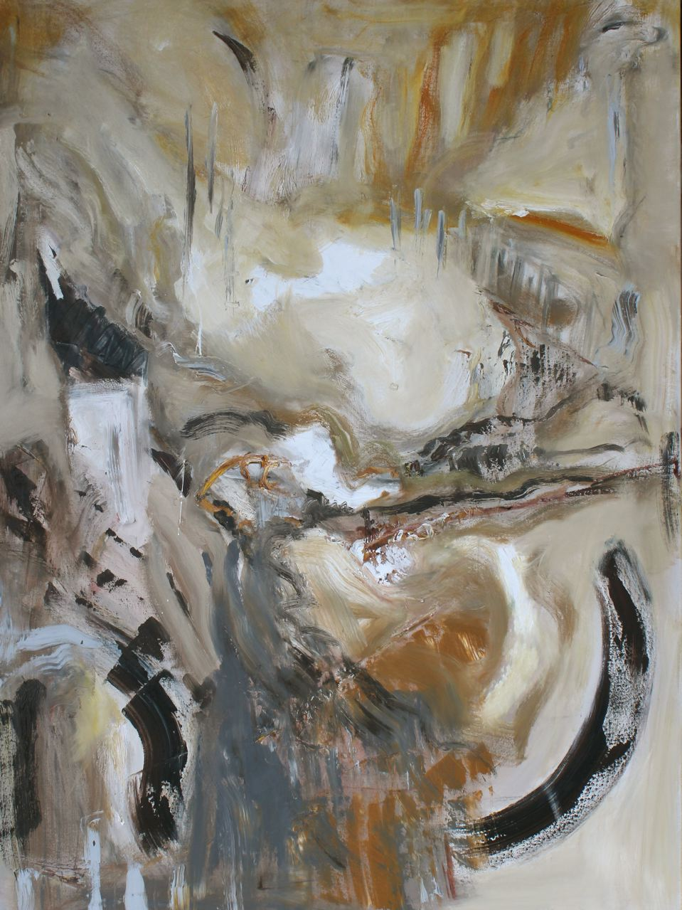 LJ-010, Elevation, 36x48, oil on canvas, 2015, $3,200