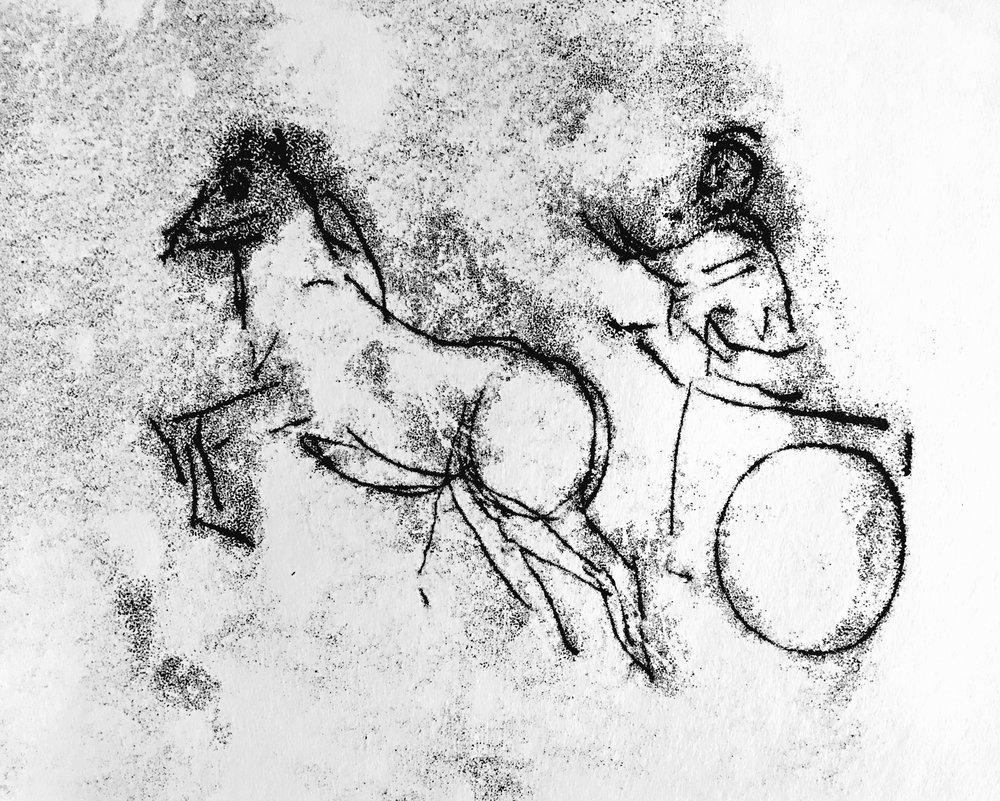 Ezekiel and Chariot	Monotype	2016	5	10.jpg
