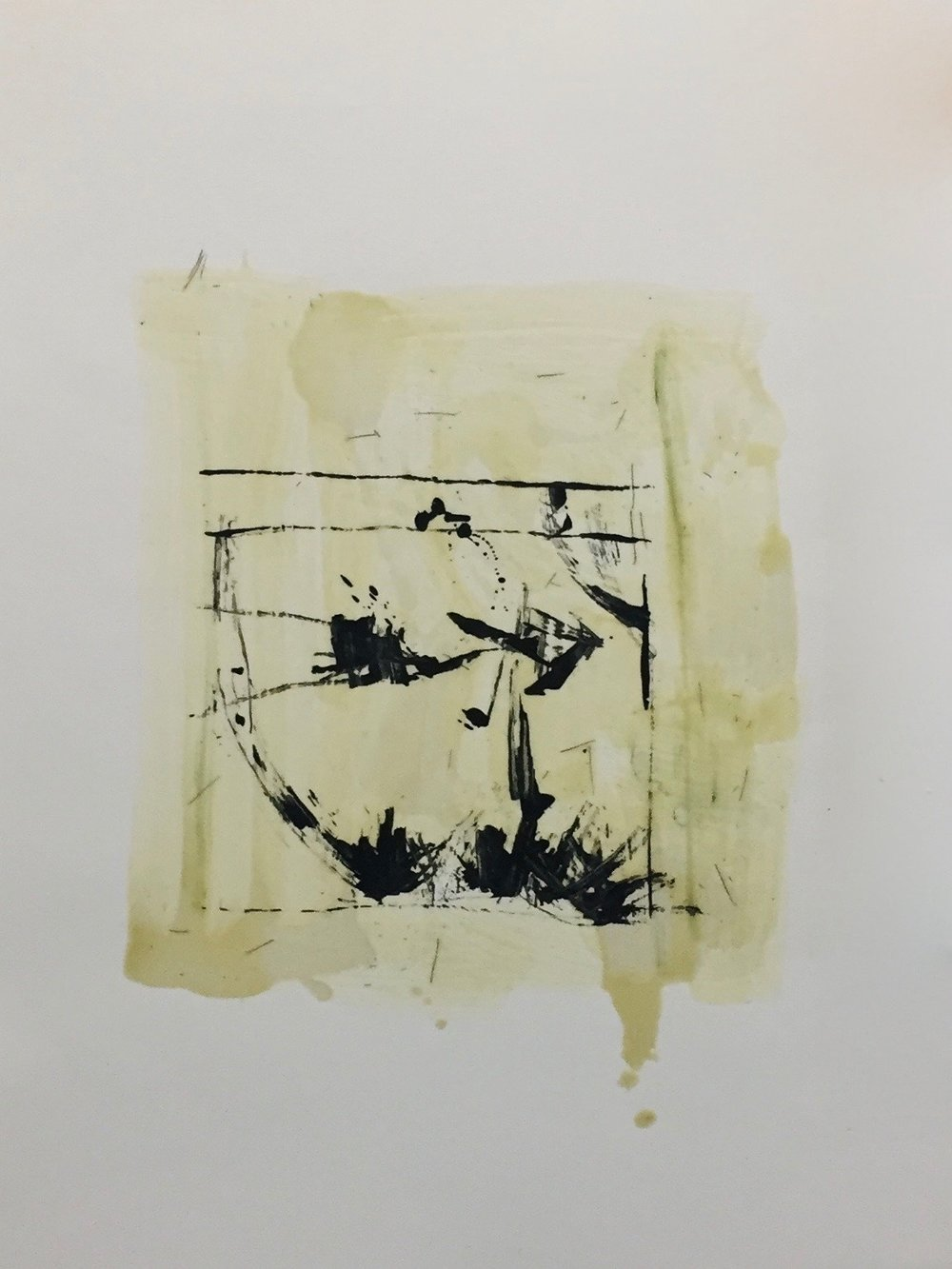 KW-099_Nonfiction 23_Encaustic on paper_2016_22x30.jpg