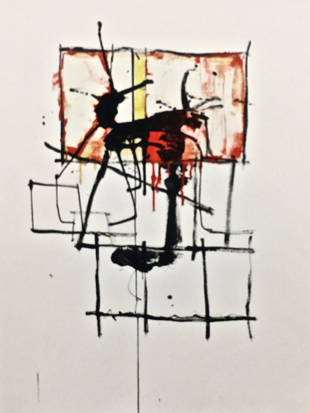 KW-098_Nonfiction 22_Encaustic on paper_2016_22x30.jpg