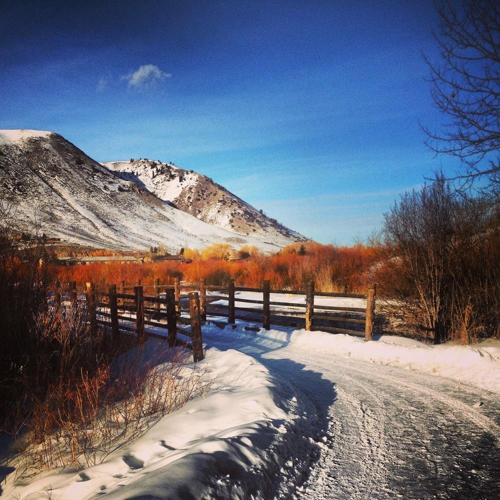 Flat Creek Bridge, Garamond Trail, Jackson, WY