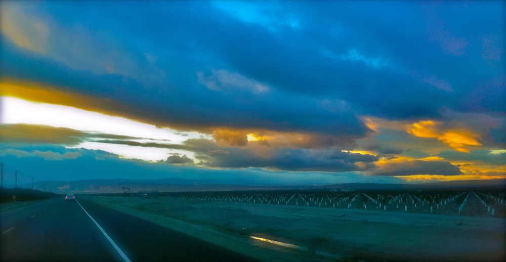 Highway 166 towards Maricopa, CA