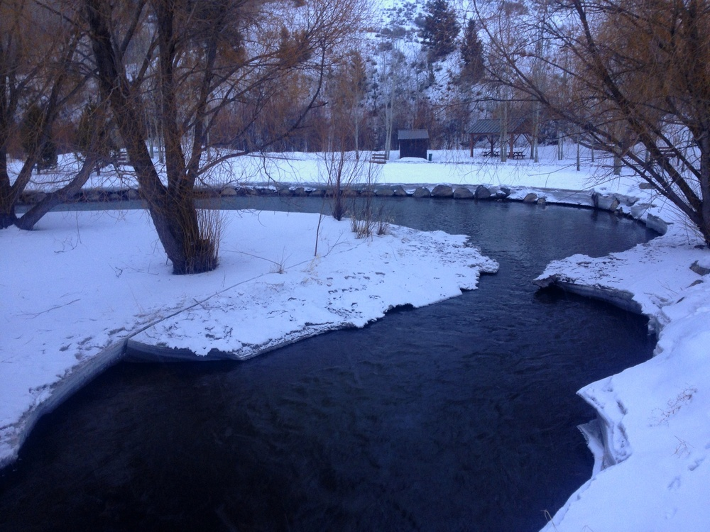 Flat Creek Bridge, Garamond Park, Jackson, WY