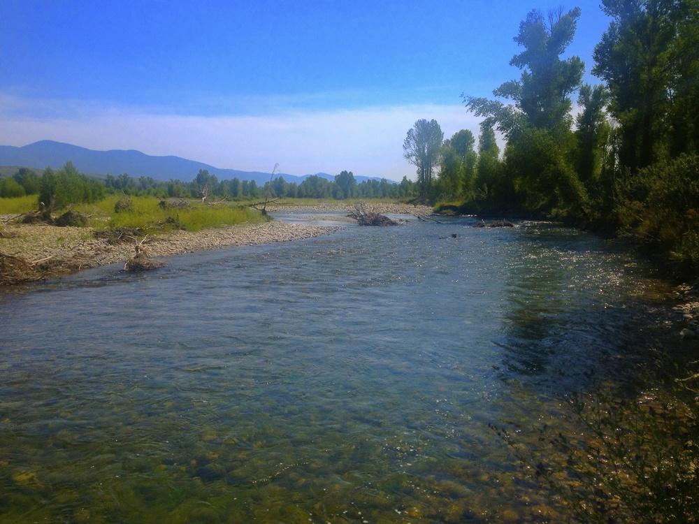 Gros Ventre River, Jackson, WY