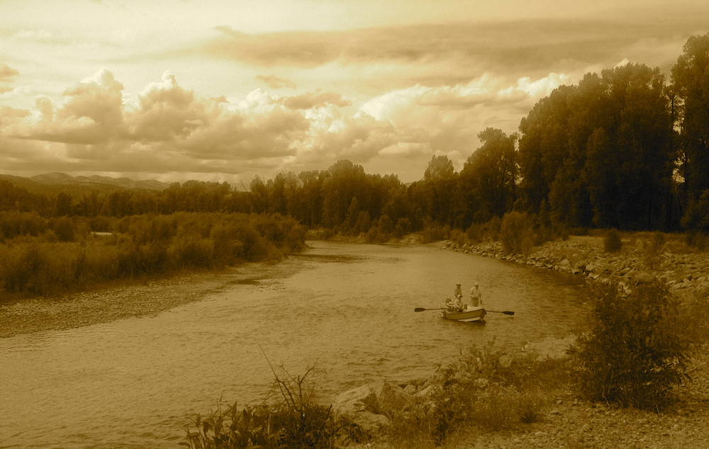Snake River, South Park Levee