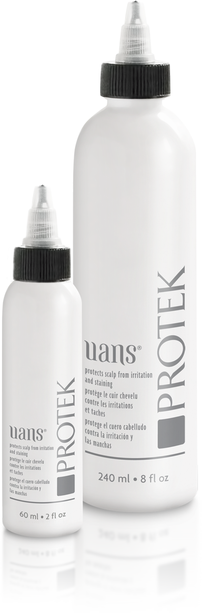 Protek is available in 60 ml (2 fl. oz) and 240 ml (8 fl. oz) bottles.