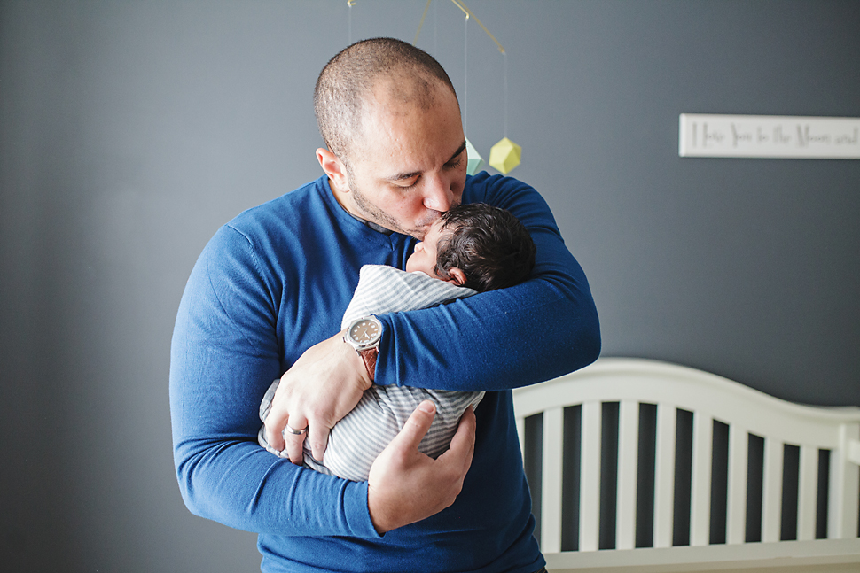 Minneapolis MN Newborn Family Session