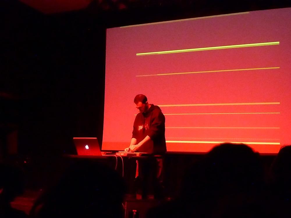 DFRH Concert - APC40 Controlling Ableton Live