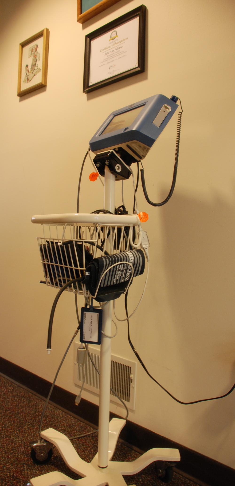 Blood Pressure Machine to Calculate BMI