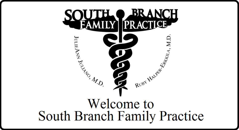 South Branch Family Practice Logo  Practice of Dr. Juliano and Dr. Halper-Erkkila