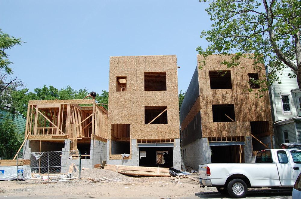 Van Brunt Homes Under Construction