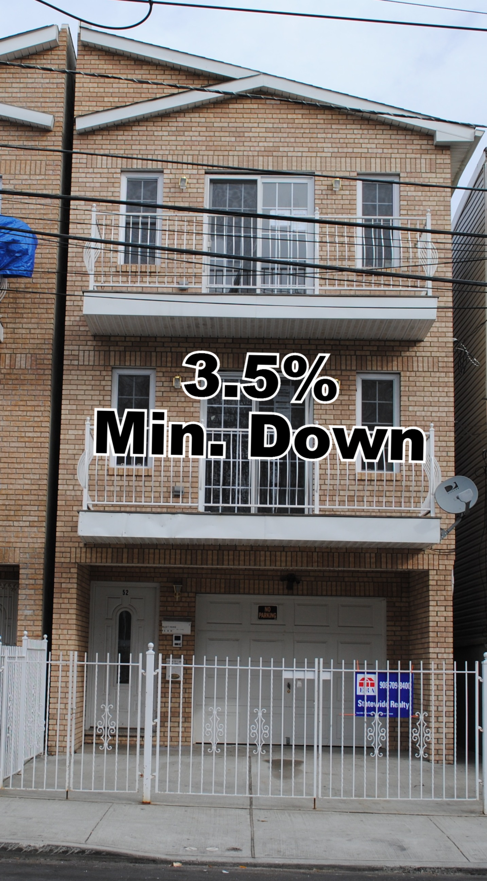 3.5% Minimum Downpayment