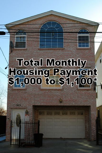 Total Monthly Housing Payment