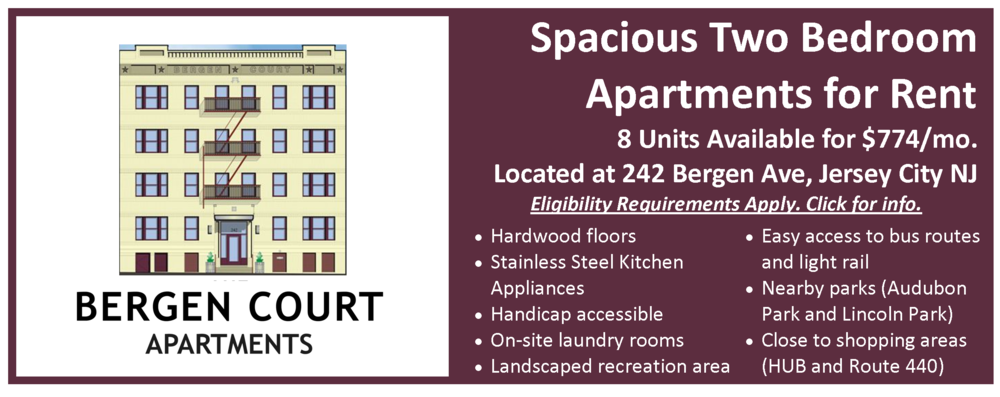 Now Leasing Bergen Court Apts