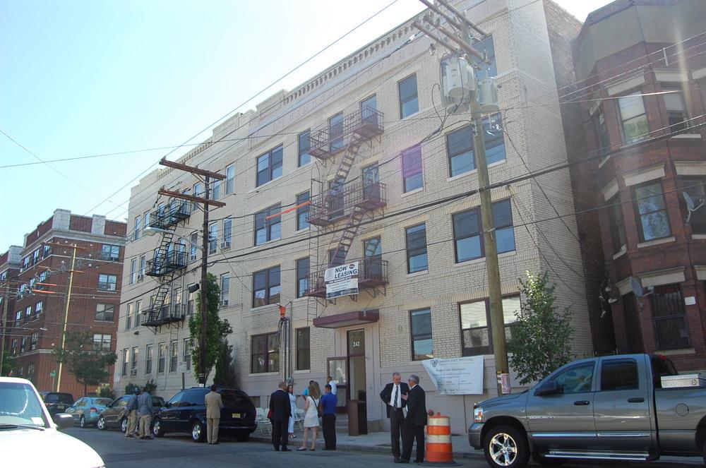 Bergen Court Apts Facade