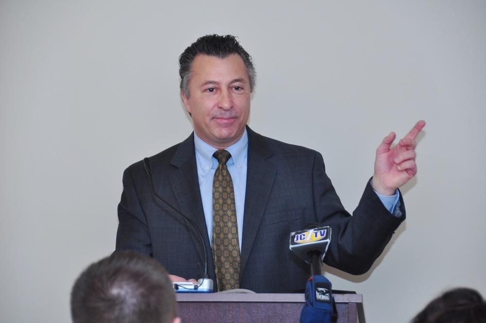 Regional Vice President of TD Bank,    Charlie Ponti