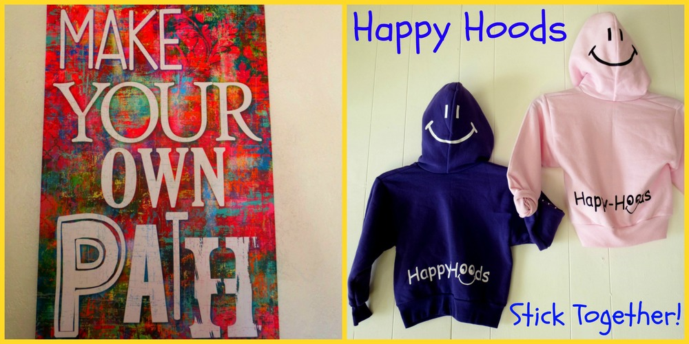 Happy Hoods stick together to prevent bullying!  Happy-Hoods Anti- Bully Program