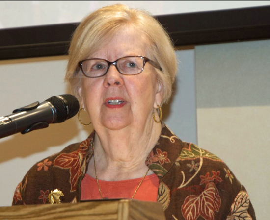 Rev. Judith Birch, former minister of outreach