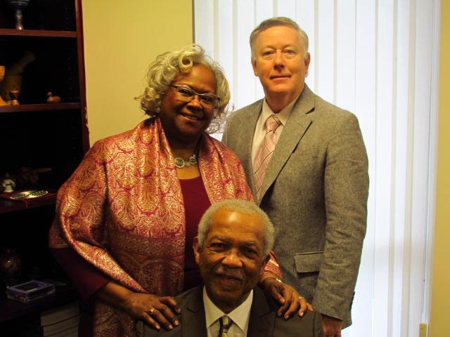 Rev. Reginald green, Guest preacher, rev. Ramonia lee, Rev Woodie Rea