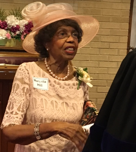 honoree Dr. Marcella hill