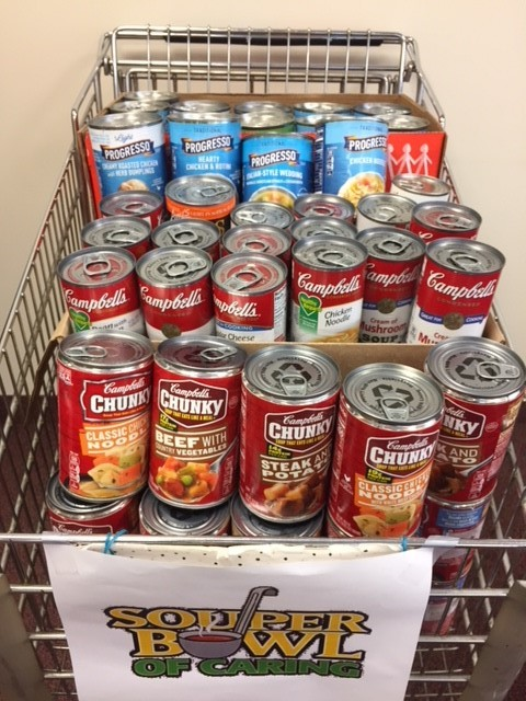 Souper BowL Donations in                       February 2018