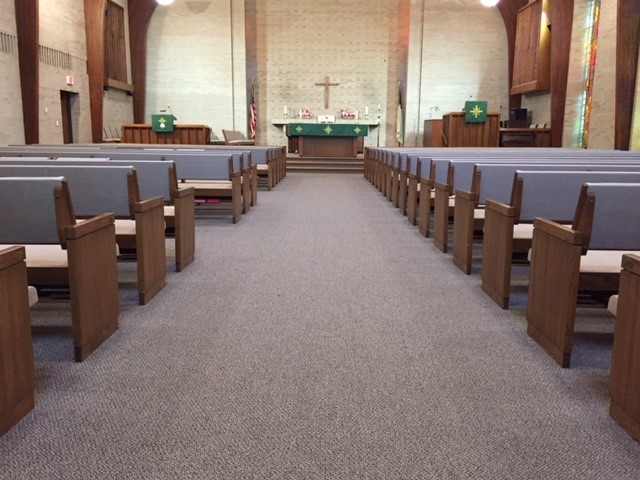 Sanctuary new pews from rear.jpg