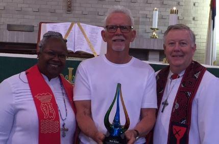 Rev. dr. Ramonia Lee, Rick Kaiser, Rev. Dr. Woodie Rea