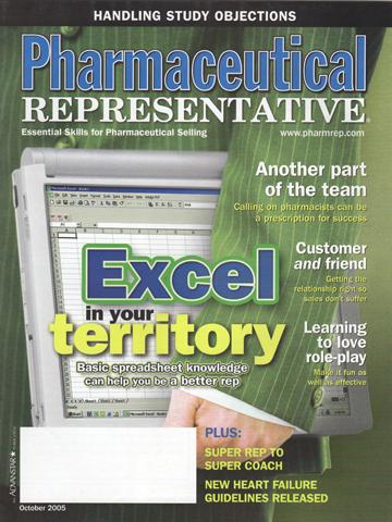 Pharmaceutical Representative - October 2005