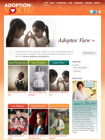Adoption Voices magazine