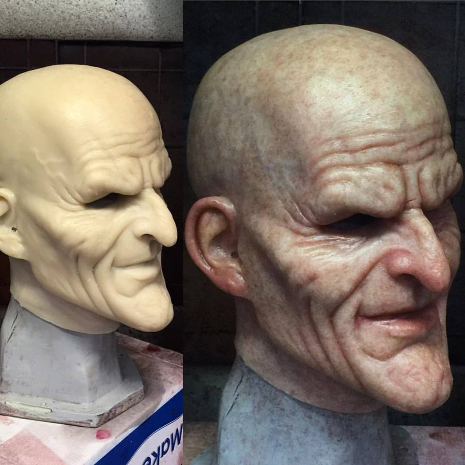 Paintjob for immortal masks