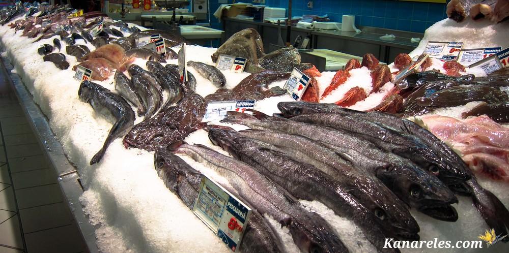 Žuvies skyrius Al Campo prekybos centre