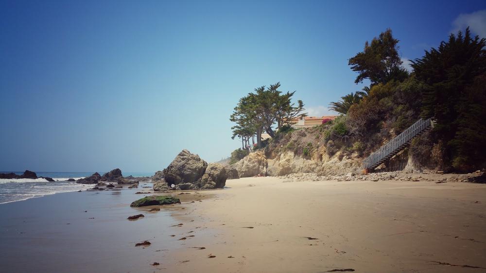 Privatus Malibu paplūdimys