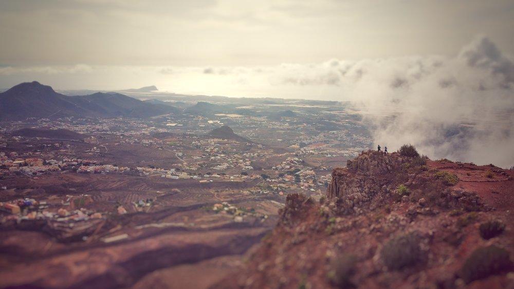 Vaizdas nuo Roque del Conde