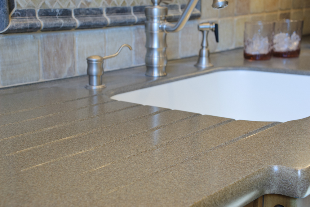 Countertop Finish Options : Solid Surface Countertop Options ? Kitchen Associates ...