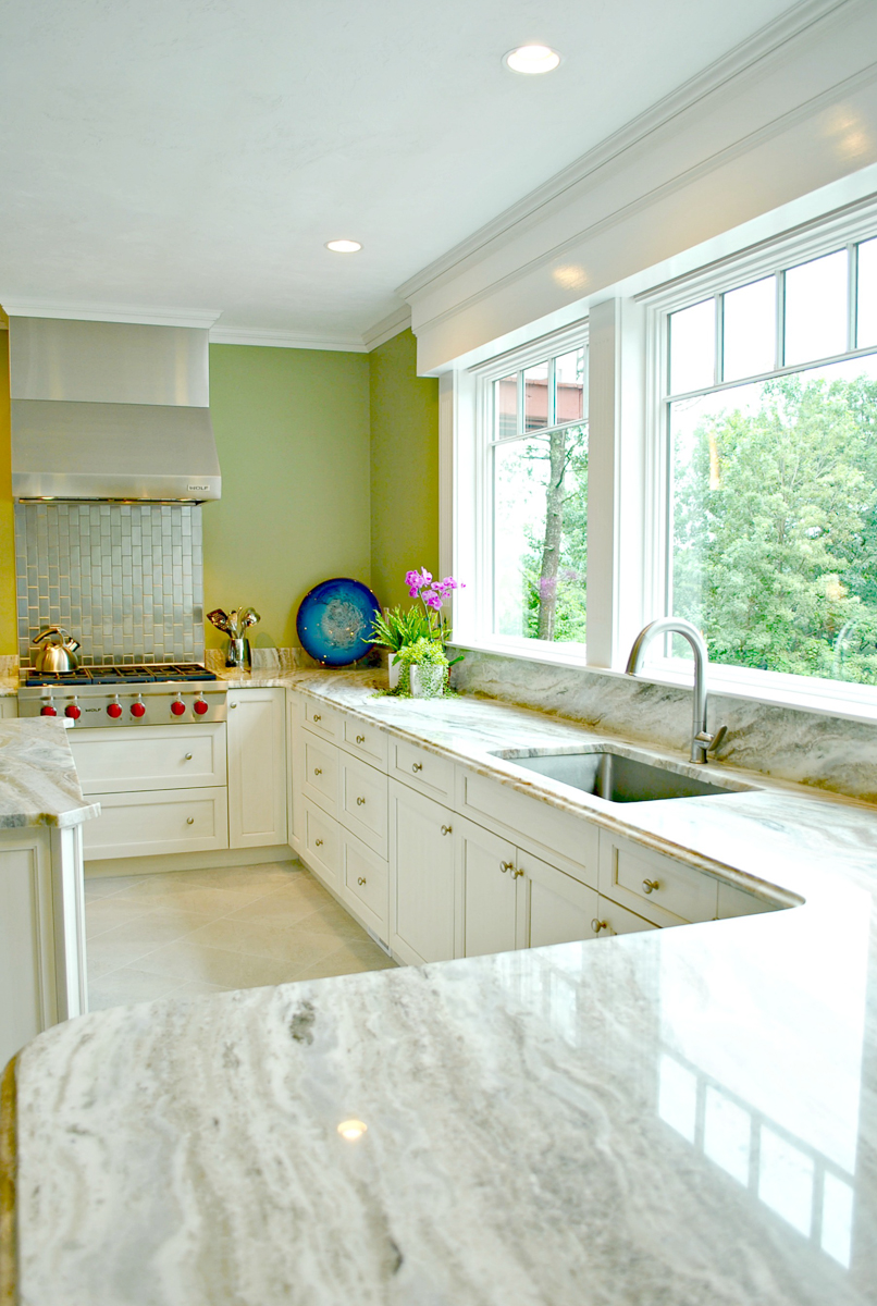 Less Cabinets For A Better View Kitchen Associates Massachusetts