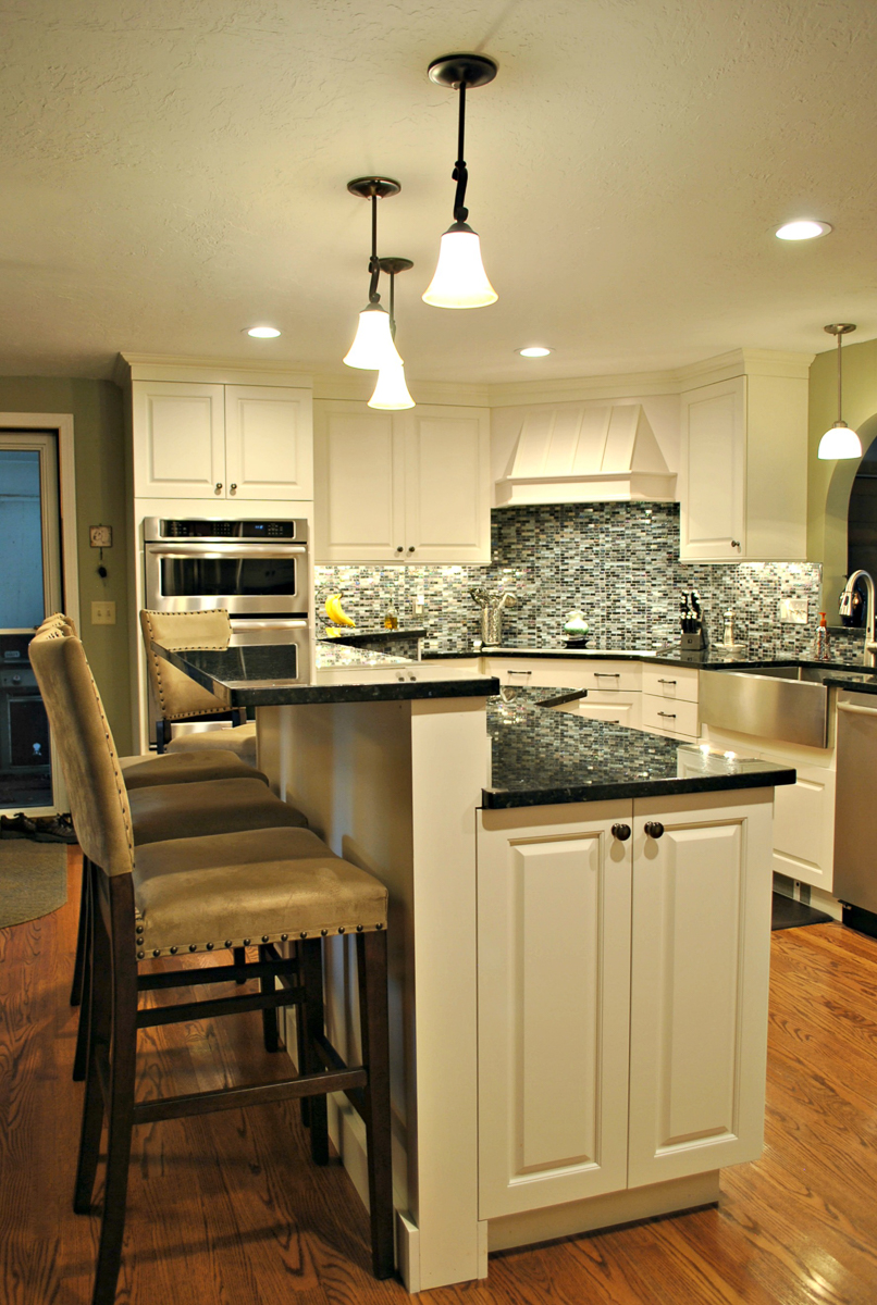 A Basic Leominster Ranch Gets A Kitchen Renovation Worthy