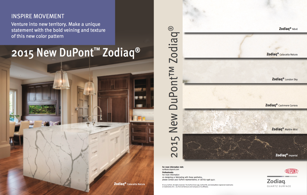 Dupont™ Has Released A Brand New Color Collection For Their Zodiaq© Quartz  Surfaces. Adding Bold Veining And Texture, These Beautiful New Colors Are  More ...
