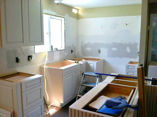 Whether you're doing a minor remodel or a major renovation, the thought of  being without your kitchen for four to six weeks may seem daunting.