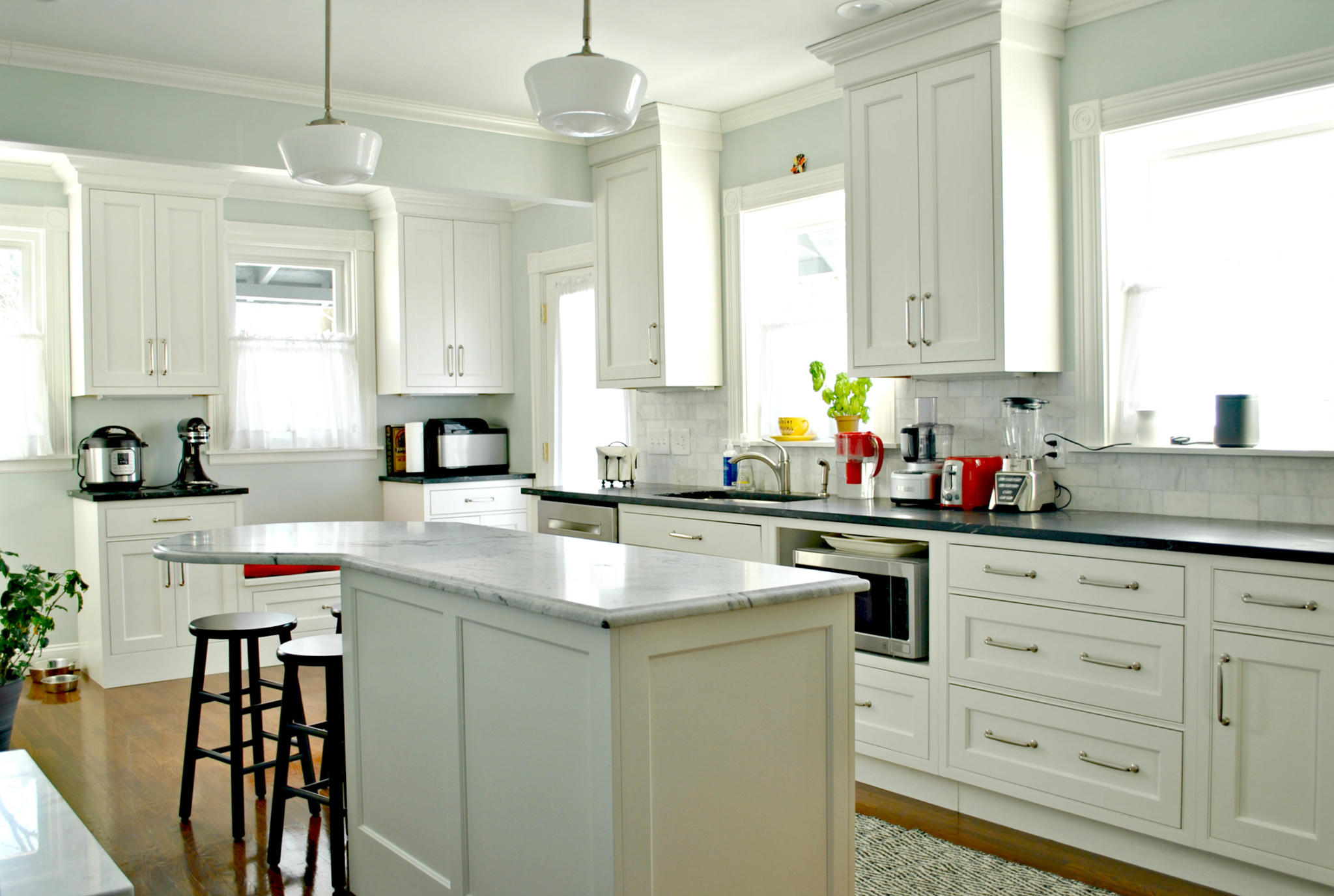 Vintage Victorian Kitchen Remodel In Dorchester, MA