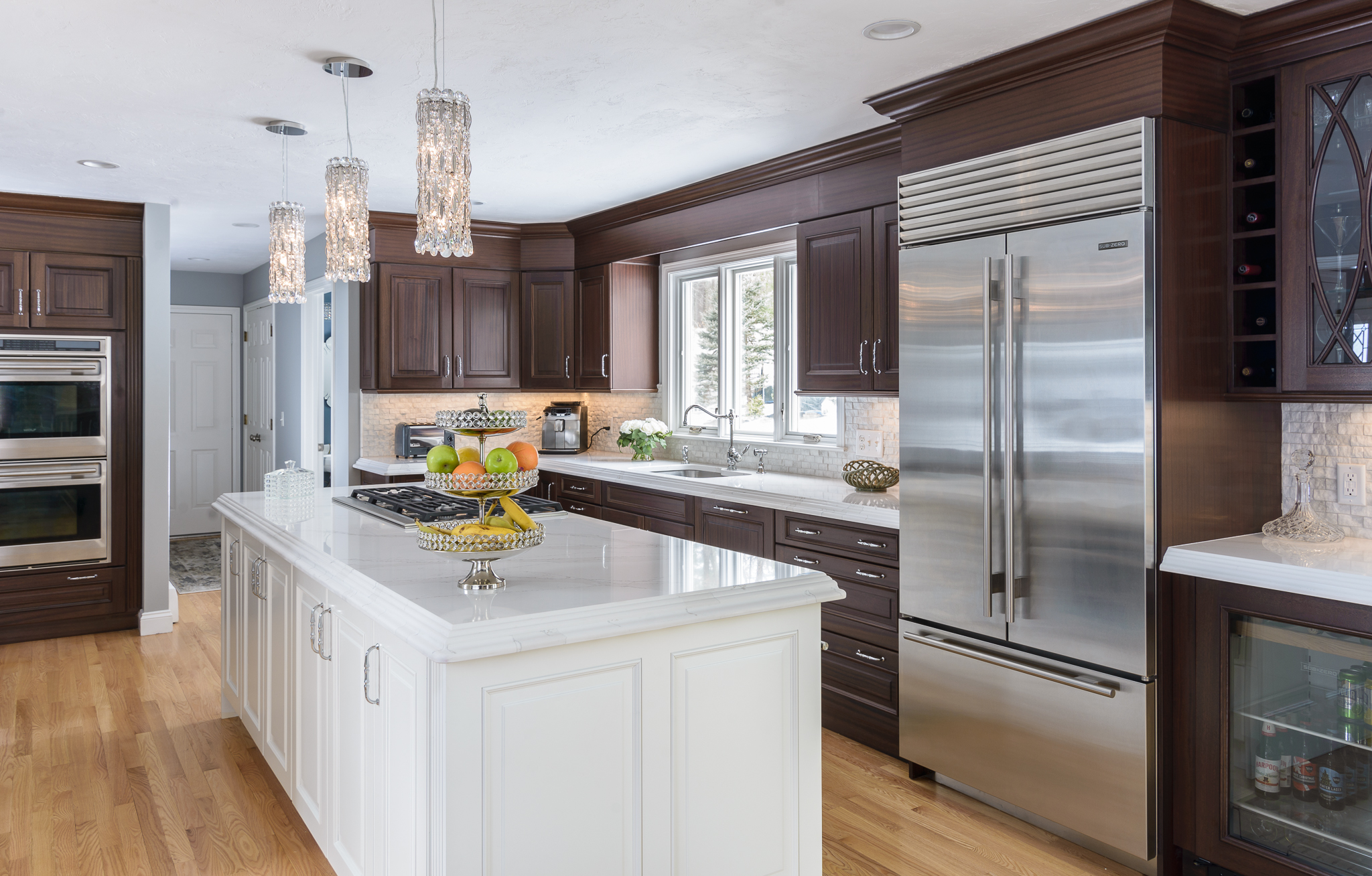 Luxurious Kitchen Remodel In Lancaster, MA