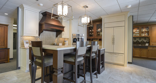 kitchen design showroom. Love At First Sight In The Kitchen Associates Showroom  Massachusetts Remodeling