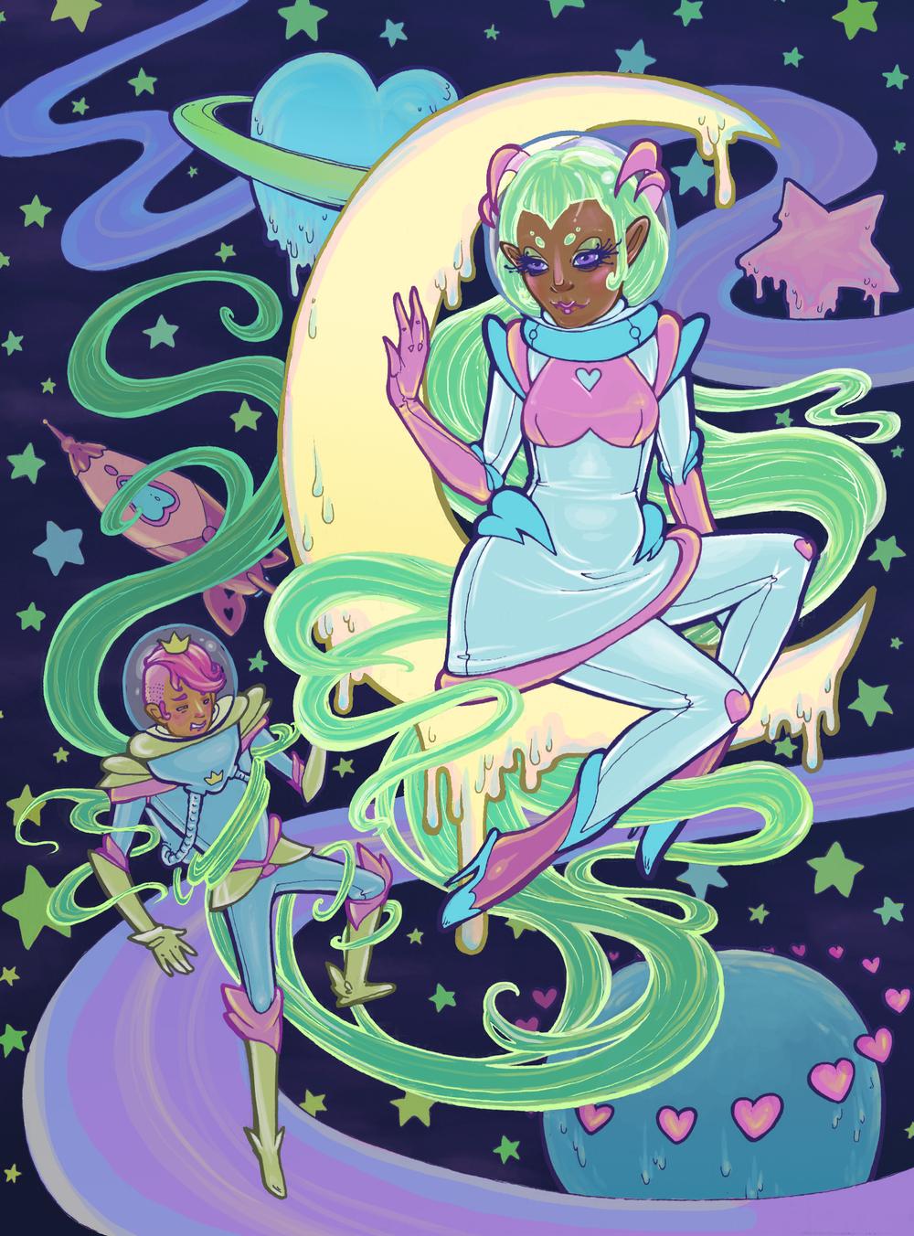 Galactic Princess Rapunzel