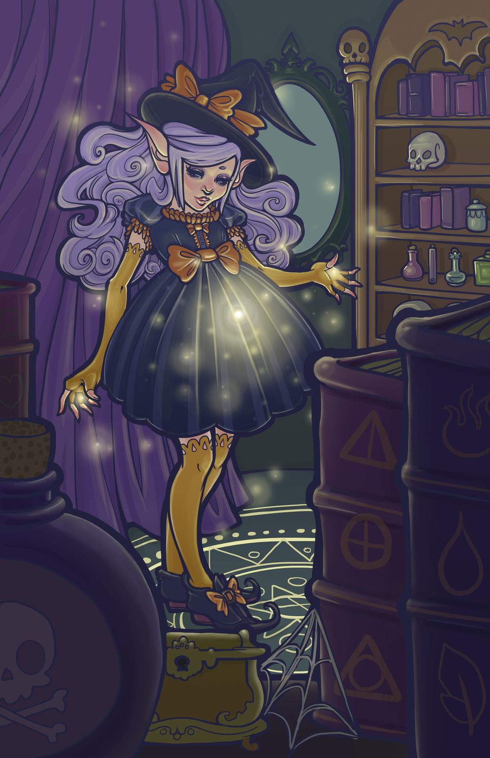 Elf Sorceress
